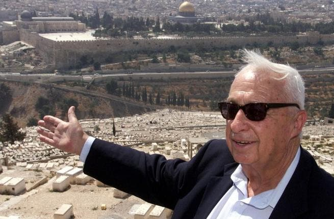 Arnon Perlman: One of Sharon's top political advisers until 2004, Perlman spoke of the former PM's move towards peace with Palestine: