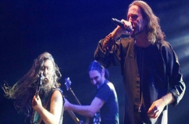 Israeli heavy-metal band 'Orphaned Land.' They are to tour with Palestinian rock band 'Khalas.' (AFP/File photo)