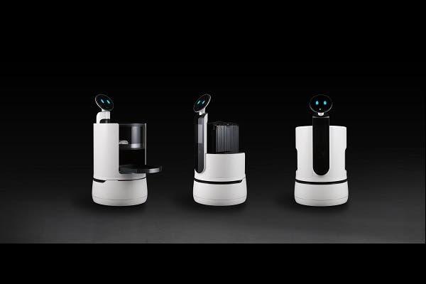 ال جي تكشف فرصاً تجاريةً جديدةً مع الروبوت التجاري   البوابة
