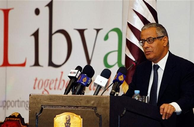 Libya's Prime Minister has vowed to tackle corruption