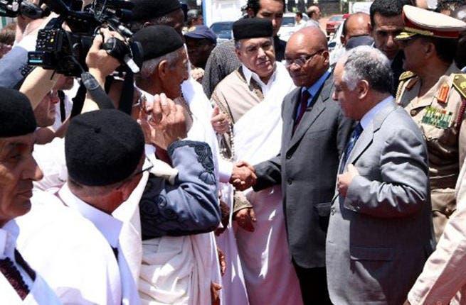 Zuma in Libya