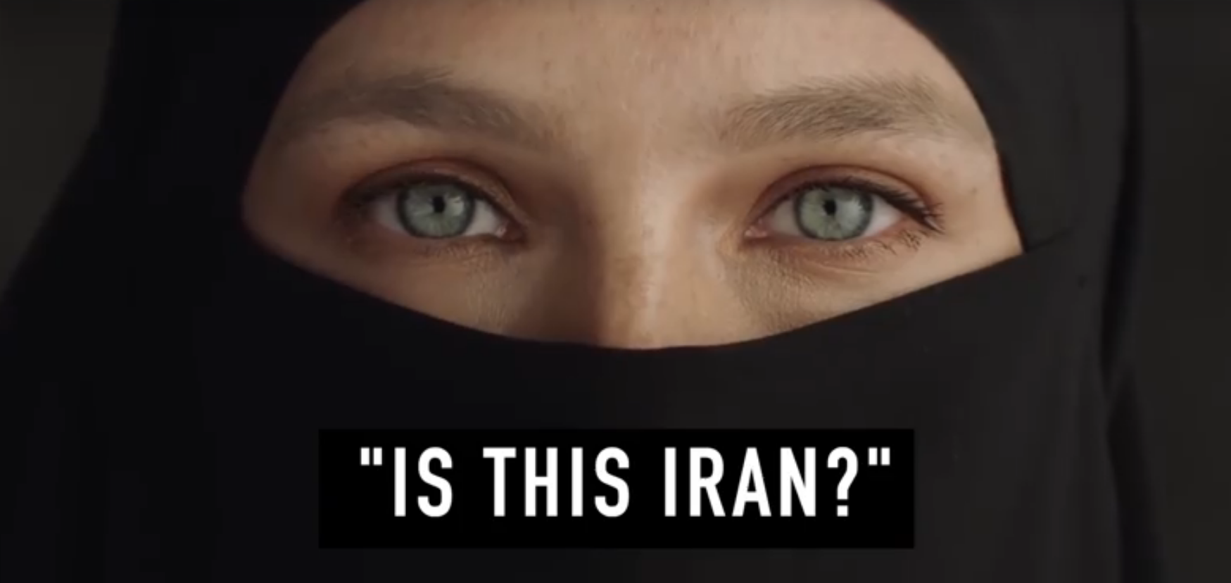 An Israeli advert for a clothes brand shows a woman taking off her niqab to promote freedom, sparks controversy.