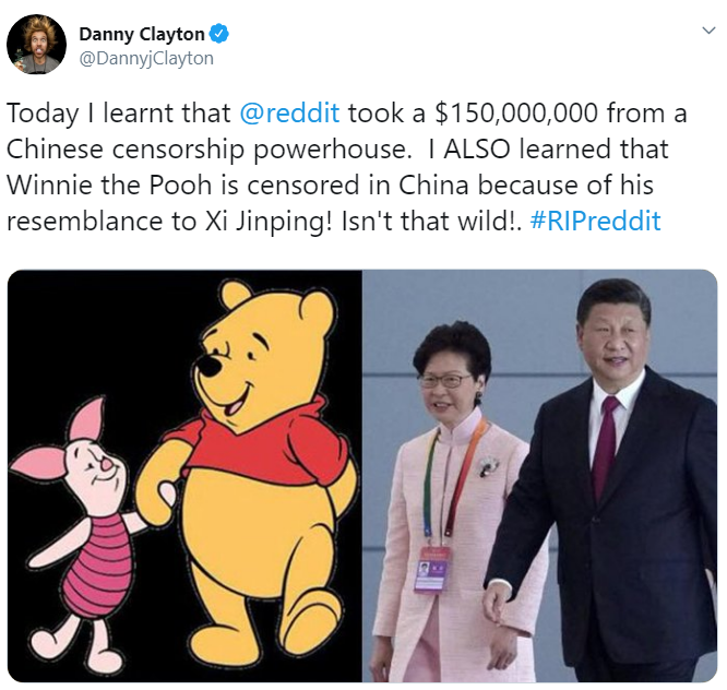 Reddit China