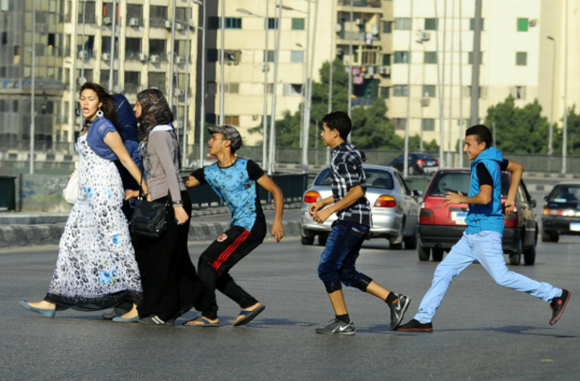 Women bear the brunt of sexual harassment in Egypt.