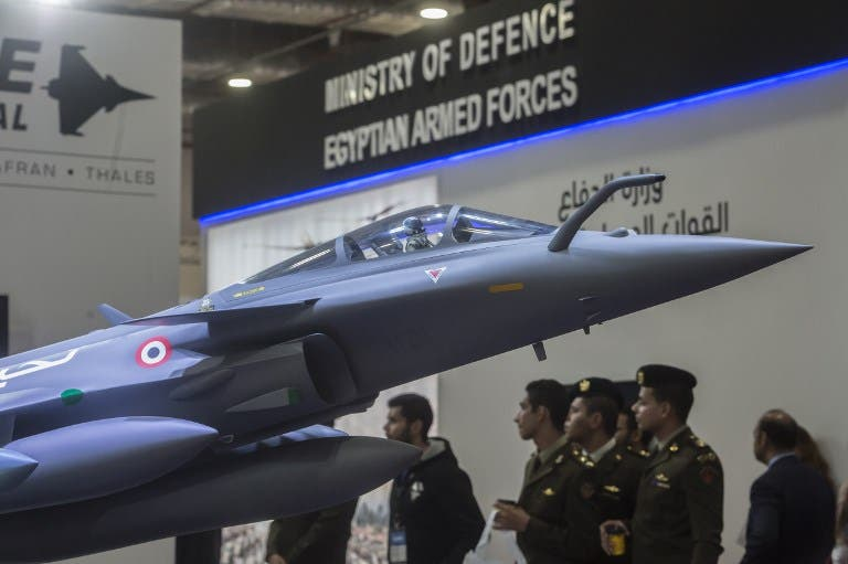 Humvees, Jets and Comms: Egypt Opens First Weapons Exhibition in