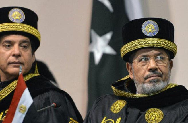 Trying to blend in with the locals is always a tricky look to master. With his trip to nearby Pakistan on the agenda, Morsi opted to drop the suit and tie in favor of a traditional costume, leaving Egyptians cringing at their emperor's new clothes.