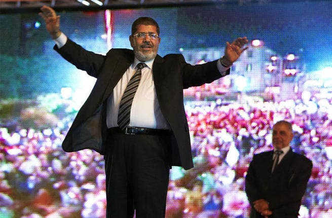 """Despite his nap at the Arab League, Morsi was able to stir himself for some public speeches in Qatar. Unfortunately, they made even less sense than his comments in English: """"if the monkey died, what shall the monkey man do?"""", he asked and the world stood bemused."""