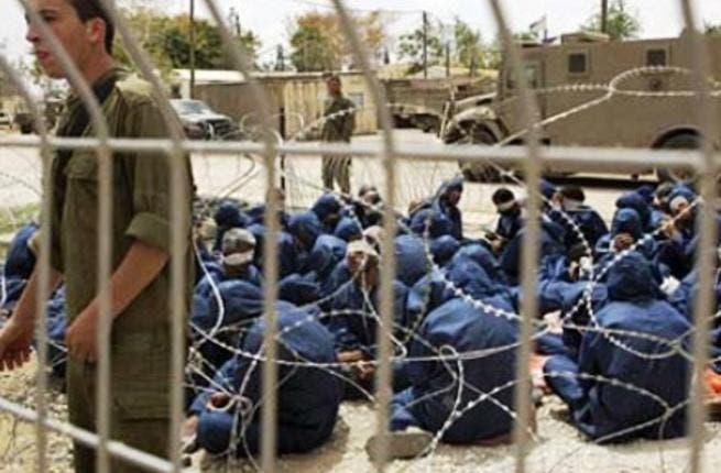 اسرائيل رفضت اطلاق سراح الدفعة الرابعة من قدامى الاسرى البالغ عددهم 30 اسيرا