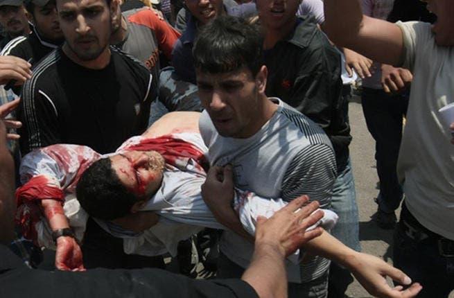 Palestinian killed