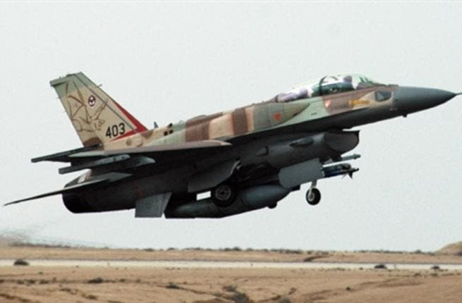 ISRAEL, RAMON AIRFORCE BASE : An Israeli airforce F-16I fighter plane takes off at the Ramon Air Force Base, in the southern Israeli Negev desert, on November 19, 2008
