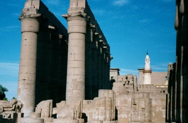 The temple of Luxor: no place for Naomi Campbell.