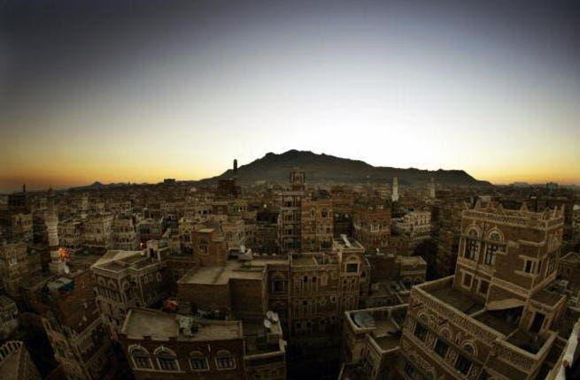 SANA'A, YEMEN - NOVEMBER 22: A view of the city of Sana'a on November 22, 2005 in Sana'a, Yemen