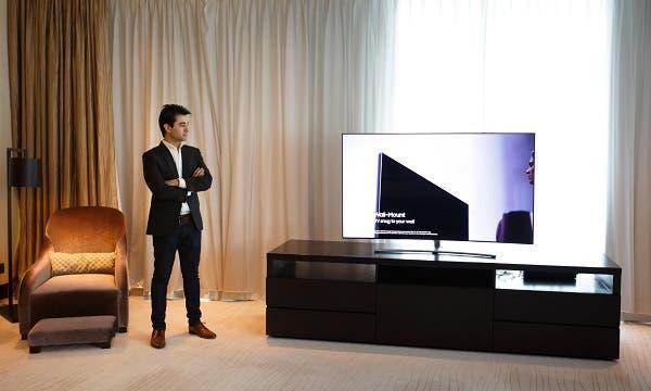 سامسونج ترتقي يتجربة مشاهدة التلفزيون بشكل جذري عبر إطلاق مجموعة تلفزيونات QLED الجديدة لعام 2018 في الإمارات   البوابة