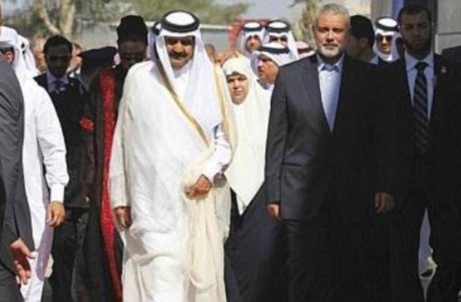 Qatari emir in Gaza