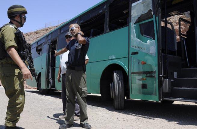 Bus segregation in Israel 2011. (