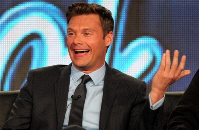 Would Ryan Seacrest take time from his busy hosting schedule to do the honors for