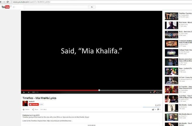 Mama Mia libanesiske Miami Porn Star Mia Khalifa vækker Ny-9350