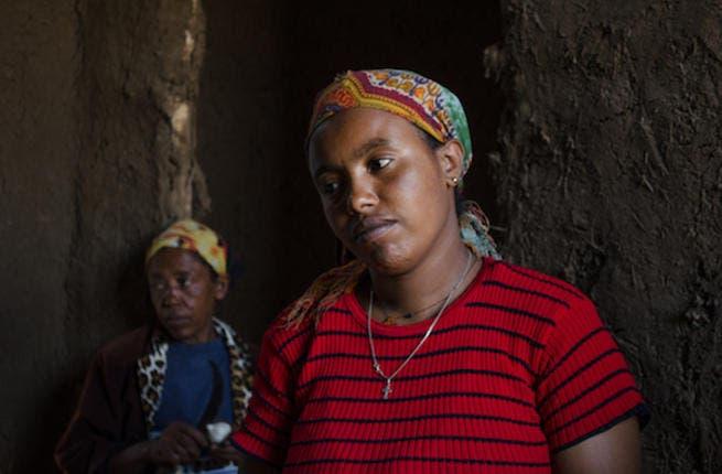 An Ethiopian from the rural city Debre Berhan (Albawaba/J. Zach Hollo)