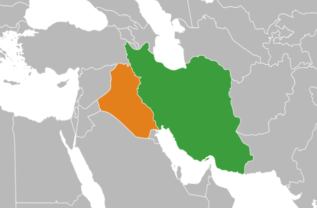 Iraq is Iran's main trading partner for non-oil goods (Source: Wikimedia/Izzedine)