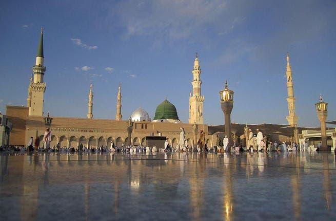 The Prophet's Mosque, or Al-Masjid an-Nabawi (Source: Wikimedia/Wurzelgnohm)
