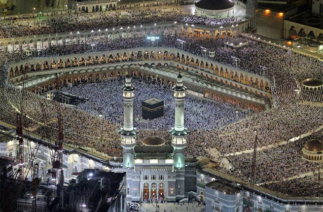 Saudi authorities will impose a 50% cut on  Saudi pilgrims and a 20% cut on foreigners in 2013 as construction works take place in Mecca.