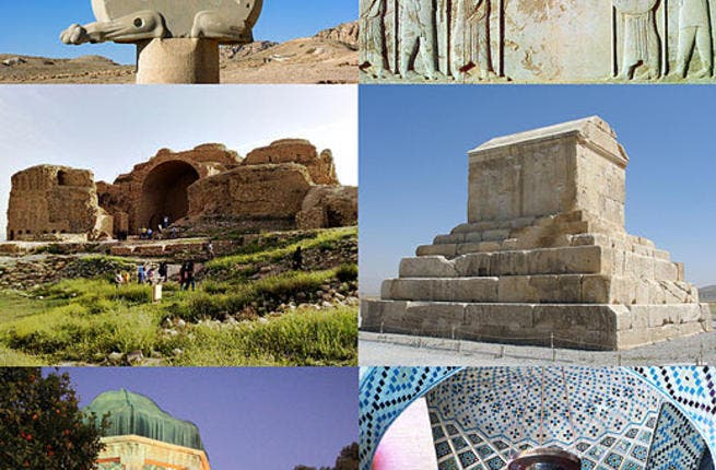 Photos from scenic destinations of Fars province, Iran (Source: Wikimedia)