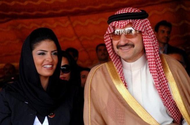 Alwaleed and wife