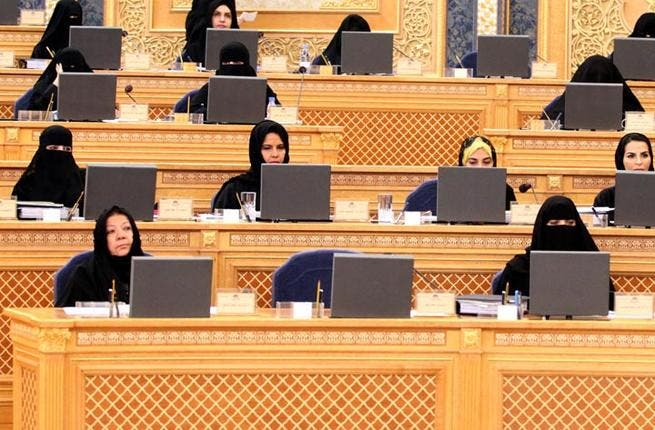 For the first time, the visiting delegation included two female Shura members, Nihad Al-Jishi and Thuraya al-Arrayed, who will be working with the British parliament's Representatives and Lords. (AL Arabiya)