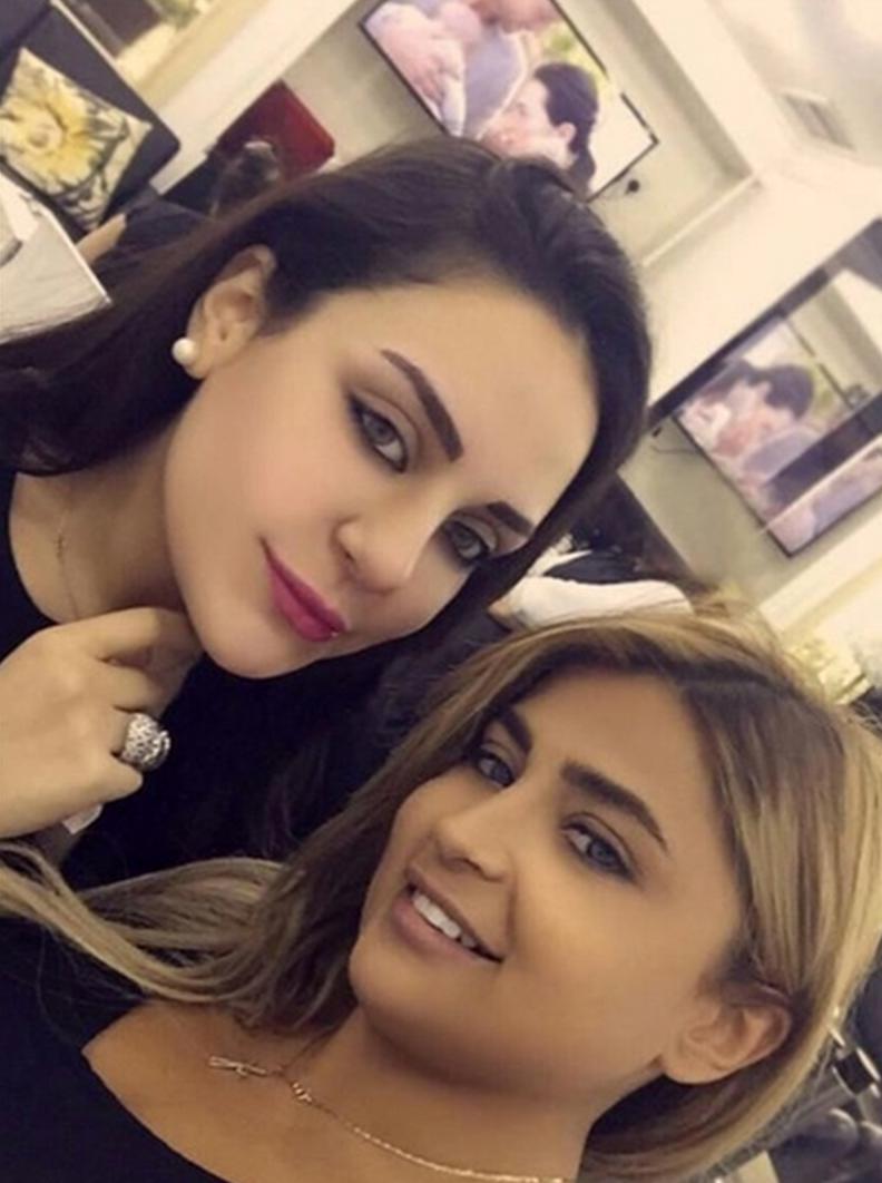 Haifa wehbe daughter zainab wedding bands