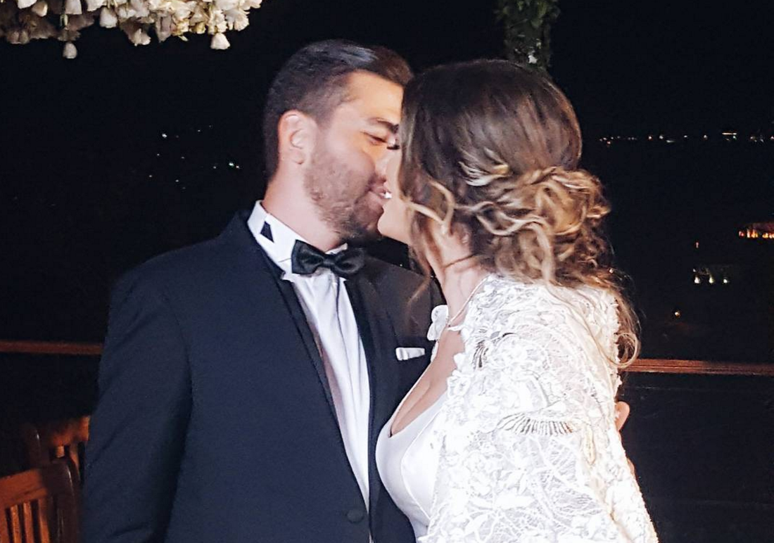 Former Beauty Queen Nadine Wilson Njeim A Real On Her Wedding Day Al Bawaba