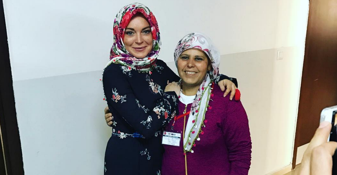 lohn muslim Members of the muslim faith welcomed her to islam last week after she deleted her instagram pictures and left an arabic message of peace in her bionow lindsay lohan has fuelled speculation.