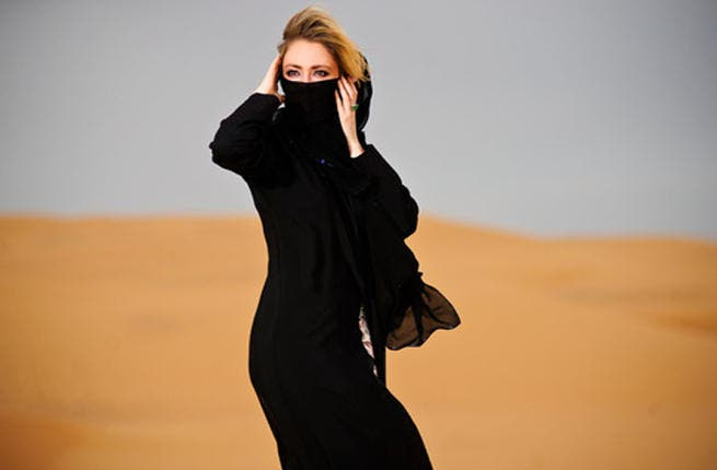 Perks of covering up: As a non-Muslim, or a barely practicing one, you'd be scorned if you donned a veil elsewhere in the Middle East. In Saudi, it's a must for all, infidels or not. Make the most of that abaya - bad hair days and zits are hidden as soon as you pull on the niqab. Embrace it! No risk of sun-burn to boot!
