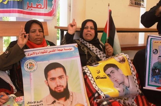 Maybe the region's most determined moms, these mothers of Palestinian hunger strikers rally on despite the fact that their sons face indefinite jail terms in Israeli prisons. With one hand holding on to a family portrait and another making the 'V for victory' sign, they continue to fight.