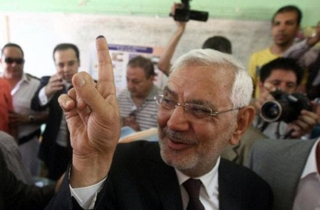 Aboul Fotouh, a key candidate, had formally broken away from the Muslim Brotherhood to run as an independent but not all were convinced he had left his Islamism behind. A Twitter comment from a would-be voter read: