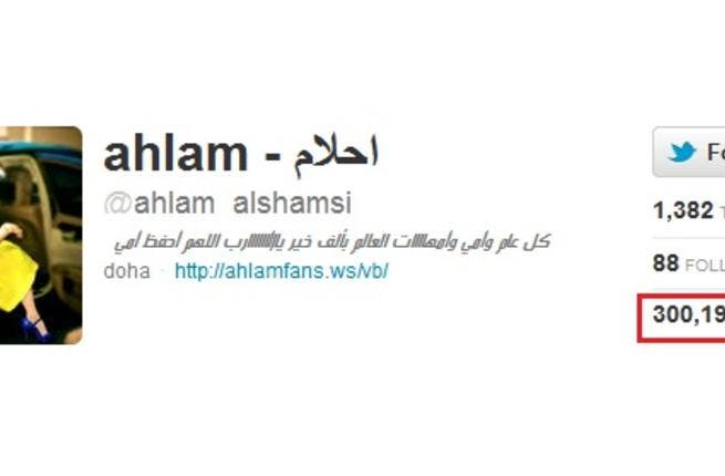 Ahlam was picked on for her English too. Not necessarily a standard entry requirement for 'Arab Idol', you'd think. Apparently her accent and pronunciation left room for improvement. An Ahlam classic impression has been her unique pronunciation of Twitter as