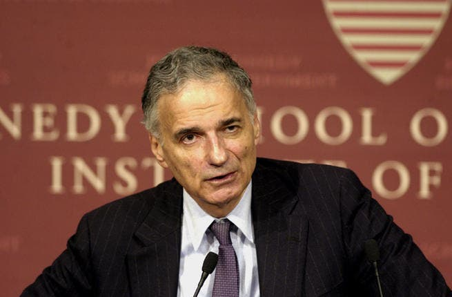 Ralph Nader: Well-known political activist in the U.S, Nader is a six-time candidate for President of the United States, running for the Green Party twice. His parents immigrated from Lebanon and he speaks Arabic. Popular by 'lefty' student culture, he champions causes such as the environment, and other branches of social activism.