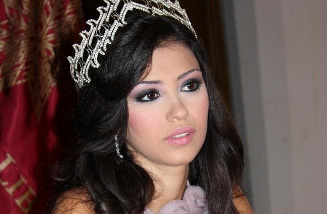 Rosarita Taweel. A more recent Lebanese beauty, 'Miss Lebanon 2008' nearly had her title revoked no thanks to her nude photos on the internet -  in violation of the contest's squeaky clean conditions for prize winners. She defended her photo-shoots as pre-2008, and her mother dismissed the whole affair as innocent fun with the Ethiopian maid.
