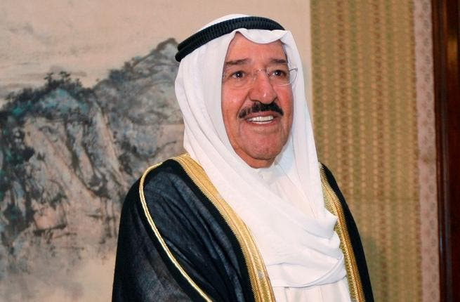 Emir of Kuwait, Sheikh Sabah Al Ahmad Al Sabah made a conspicuous appearance at Eid prayers in his country--and quickly