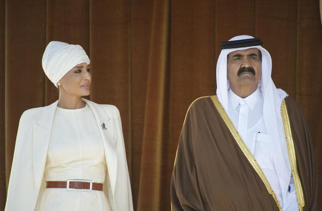 Qatar's Sheikh Hamad Ben Khalifa Al Thani and his Consort, Sheikha Mouza Al Misned, have a lot to be thankful for this time around: 