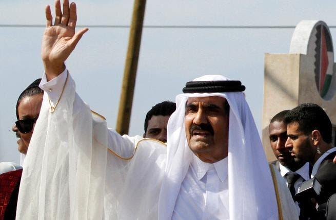 The Qatar solution: getting by with a little help from the Arabs: The Qatari PM voiced angry criticism of the AL saying