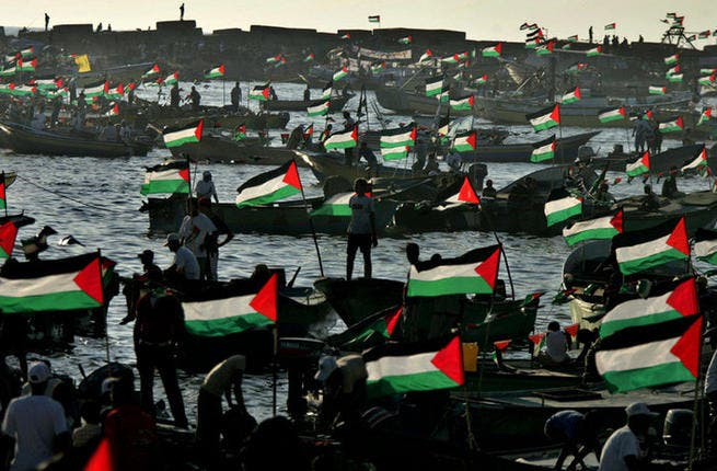 Palestinian armada or call to arms: Considered to be a failure on the Palestine problem- particularly on the ethnic cleansing in 1947-1948 - the talking shop has to'd and fro'd, bickered and talked the subject to death. The Arab League sent armies to fight Israelis in the 1948 war. Since then, the AL has not wanted to rock the boat on Palestine.