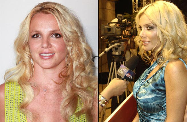 "Oops, we did it again. We've compared the ""Toxic"" American singer to yet another Arab star, but don't you agree that Nicole Saba looks like a young Britney Spears, before she went all crazy and shaved her hair off?"