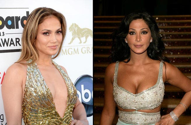 Jennifer Lopez and Elissa's album covers reveal they've got a similar look, and they're not afraid to amp up the sex appeal to reach success.