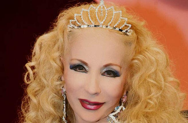 Cougar & Cradle-Snatcher. It's Sabah! We've lost count of how many toy-boy hubbies this 86-year-old star has had in her nest. So that's over 50 albums, 98 movies, 20 stage plays, a reported 3,500 songs and 9 husbands (that we know of) in her repertoire. We've got a hunch that hubby #10 is in the bag for the Lebanese legend! (facebook)