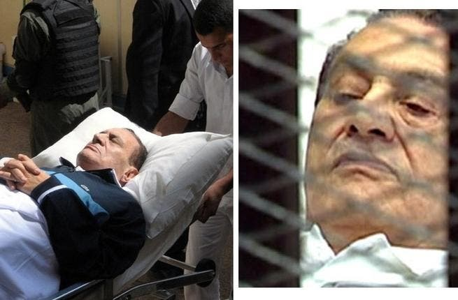 """Mubarak:  """"Didn't We Almost Have It All"""