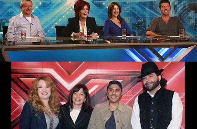 X Factor is a talent search show, sprung from the UK, whereby aspiring singers perform before an intimidating judge panel. This traveled instantly to the US, still headed up by Brit creator Simon Cowell.  Arab version: 'XSeer Al Najah' or Essence of Success, from Rotana & MBC.