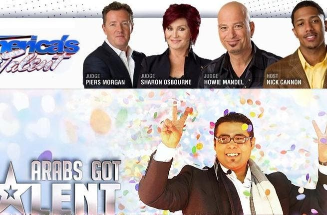 Arab's Got Talent, a Brit-US spun franchise,and big hit in 'Arabia', airing on prime TV during prime Arab revolutionary times, and reminding us of home-grown talent, in spite of its U.S. origins. It has won hearts and minds in the Mid-East though, through its celeb host trio- with  Najwa Karam.