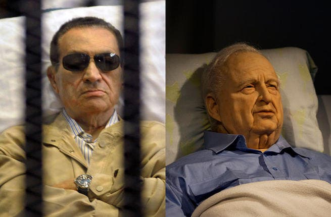 Hosni Mubarak: Sharon may of had one supporter in the Arab world - former Egyptian President Hosni Mubarak. Mubarak seemed to be impressed with Sharon's Gaza pullout, and said in 2005 that