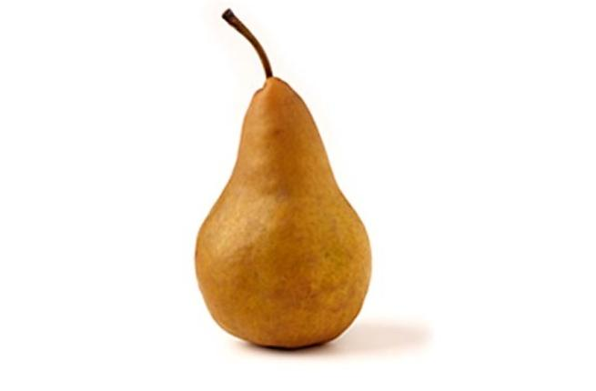 Pears —  The fruity Sheikh would deem these safe for a woman's touch. Probably just about OK, if skirting on the cylindrical.  Pear-shaped figures should get away with preparing a fruit salad, so long as bananas are left out.