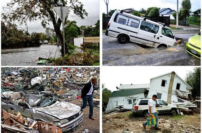 Natural disaster season: Australia drowned in floods that claimed 35 lives. New Zealand felt more than neighborly shock waves as Christ Church quaked in the country's darkest day, setting the tone for the year ahead in natural & political instability. Tornado Alley, USA, was next as Alabama & Missouri felt the brunt of tornados & hurricanes.